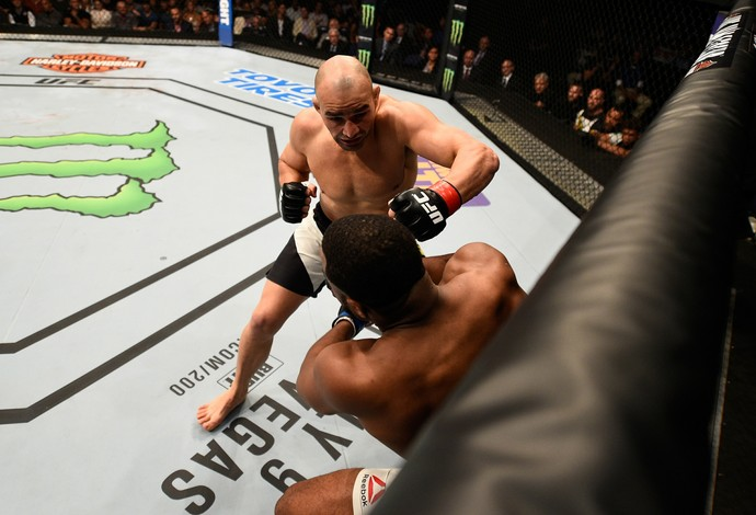 Glover Teixeira e Rashad Evans UFC Tampa (Foto: Getty Images)