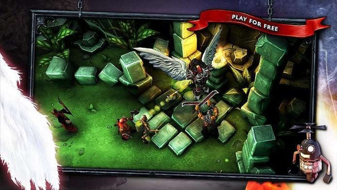 Divertido game de ação com jogabilidade que lembra Diablo (Foto: Divulgação)