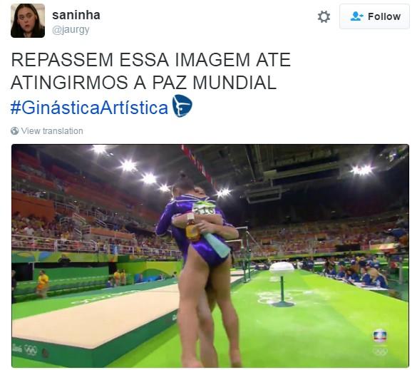 meme primeiro fim de semana olimpíada 2 (Foto: Reprodução/Twitter)