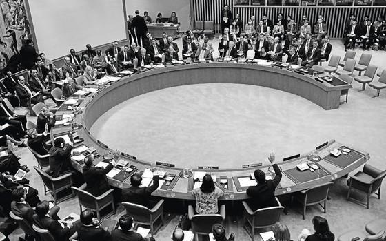 O Conselho de Segurança da ONU vota as sanções ao Irã. Os Estados Unidos espionaram outros países para conseguir vantagens na negociação (Foto: Emmanuel Dunand/AFP)