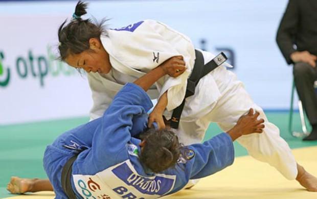 judô Ketleyn Quadros no Grand Prix de Qingdao (Foto: FIJ)