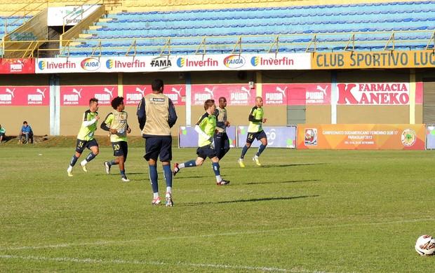 sport treino (Foto: Elton de Castro)