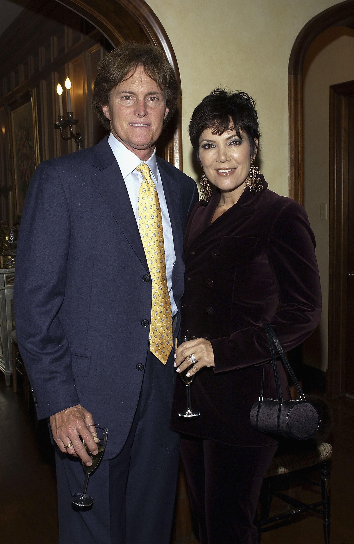 """A matriarca dos Kardashian contou a NBC: """"Não sei quem [o Bruce] está namorando. É a vida dele e você só quer que o cara seja feliz. Ele ainda é o pai de duas filhas minhas. Nós somos amigos"""". (Foto: Getty Images)"""