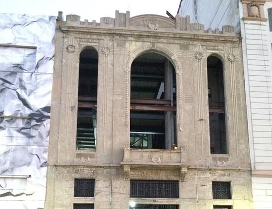 A fachada da nova D-Edge, que abrirá suas portas oficialmente em novembro (Foto: Acyr Méra Júnior)
