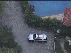 Sítio LuLa furtado (Foto: Reprodução/TV Vanguarda)