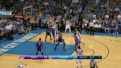 Melhores momentos: Sacramento Kings 94 x 110 Oklahoma City Thunder pela NBA