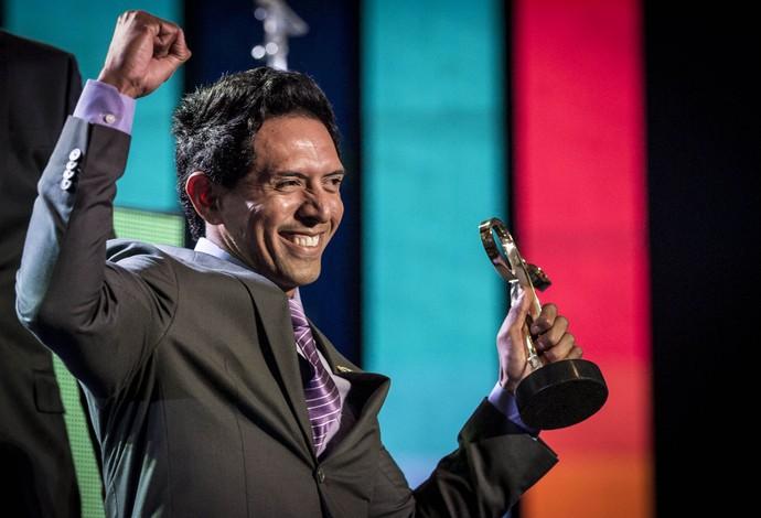 Luis Carlos Cardoso, Prêmio Paralímpicos (Foto: Daniel Zappe/CPB/MPIX)