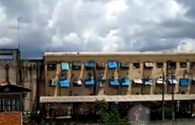Juiz bloqueia bens de ex-diretor por construção de 'motel' em presídio em Goiás (Foto: Reprodução/TV Anhanguera)