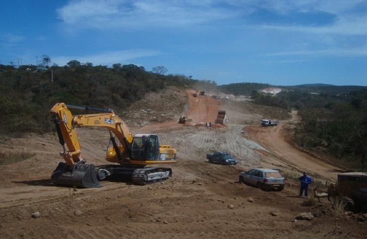 construcao-ferrovia-integracao-oeste-leste-fiol-valec-engenharia (Foto: Divulgação VALEC)