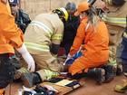 Homem morre eletrocutado durante instalação de portão em sítio no DF