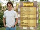 Diabético, José Loreto dá dicas para manter a forma com saúde; veja o cardápio do ator