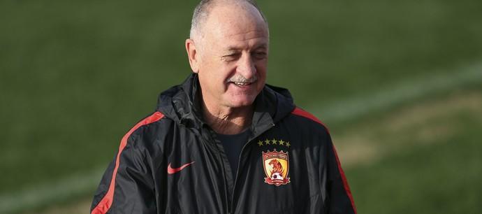 Luiz Felipe Scolari Felipão Guangzhou Evergrande (Foto: AP)