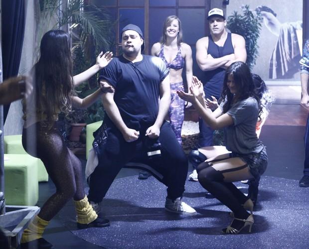 O baile foi um verdadeiro sucesso (Foto: Domingão do Faustão / TV Globo)