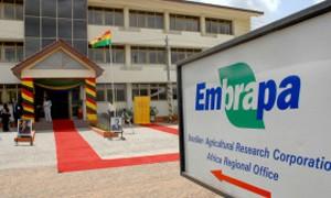 Sede da Embrapa em Gana, na África (Foto: Valter Campanato/ABr)