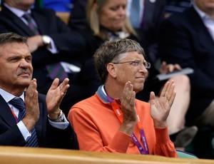 Bill Gates londres 2012 olimpiadas (Foto: AP)