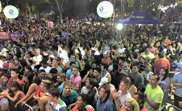 Show aniversário de Belém  (Foto: Sesi)
