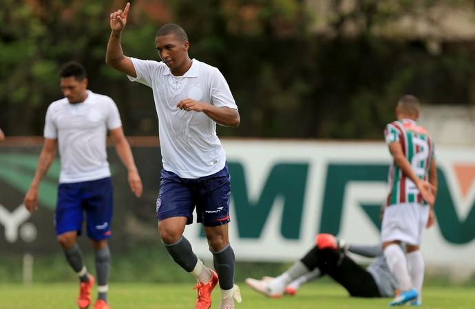 Danilo Pires gol Bahia (Foto: Felipe Oliveira / Divulgação / E.C. Bahia)
