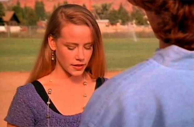 Amanda Peterson no filme 'Wildrunner - O vencedor', último de sua carreira, de 1994 (Foto: Divulgação)