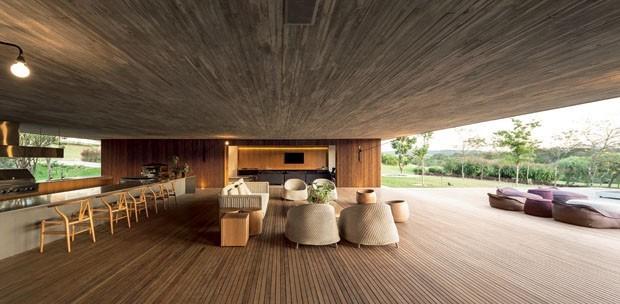 10 encantadores ref gios na natureza casa vogue casas for Choza de jardin de madera techo plano
