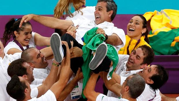 vôlei Zé Roberto brasil olimpíadas 2012 (Foto: Reuters)