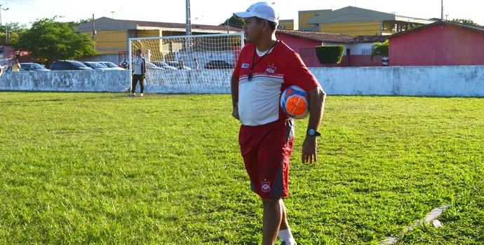 Jazon Vieira, treinador do Auto Esporte (Foto: Amauri Aquino / GloboEsporte.com/pb)