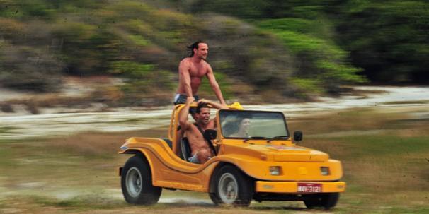 Guia turística, Esther (Grazi Massafera) mostrará as belezas naturais desta região brasileira em Flor do Caribe (Foto: João Miguel JR./Rede Globo)