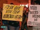 Moradores protestam pedindo mais segurança em Cariacica, ES