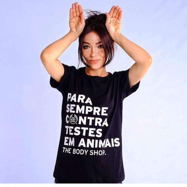 The Body Shop: contra testes em animais (Foto: Divulgação)