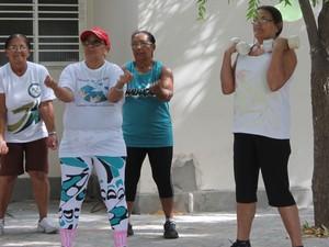 Em média,14.370 idosos recebem aposentaria em Petrolina-PE (Foto: Emerson Rocha/GloboEsporte.com)