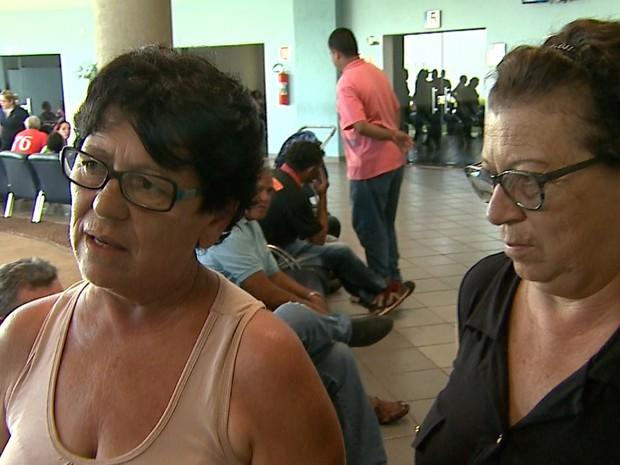 Valquíria Bíscaro culpa a Prefeitura de Ribeirão pela morte do marido após acidente (Foto: Sérgio Oliveira/EPTV)