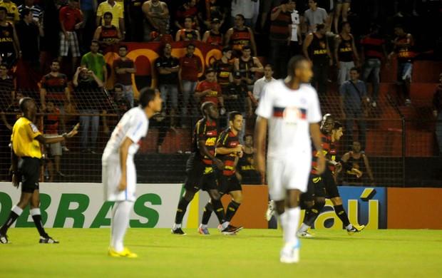 Sport x Bahia (Foto: Aldo Carneiro/Pernambuco Press)