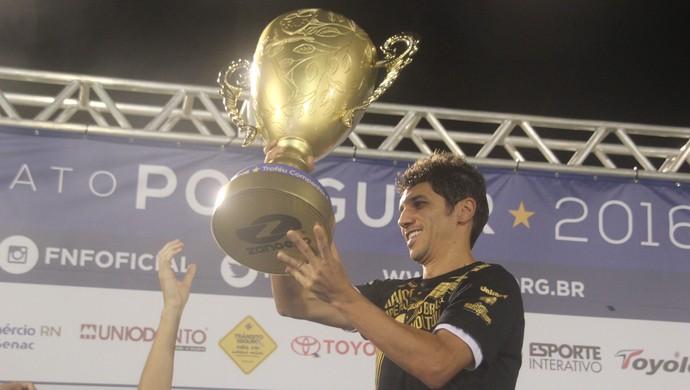Lúcio Flávio ABC campeão (Foto: Fabiano de Oliveira)