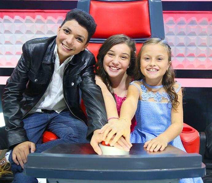 Wagner Barreto, Pérola Crepaldi e Rafa Gomes foram os finalistas do reality em 2016 (Foto: Isabella Pinheiro/Gshow)