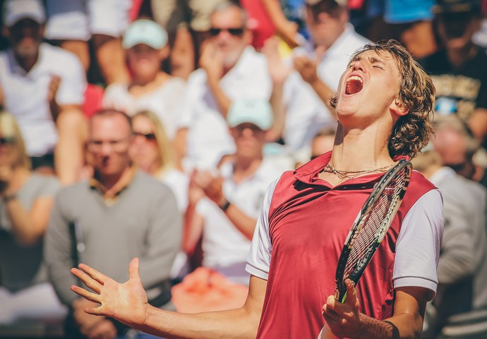 Alexander Zverev vence Bellucci no ATP de Bastad (Foto: Fredric Berggren / Skistar Swedish Open)
