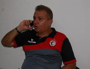 Dorgival Pereira, supervisor de futebol do Campinense (Foto: Silas Batista / GloboEsporte.com)
