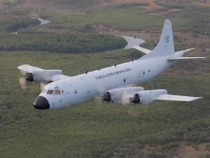Avião Orion é utilizado nas buscas no PA (Foto: CBS Silva / Agência Força Aérea)