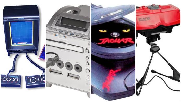 Conheça alguns consoles curiosos e obscuros (Foto: Montagem)