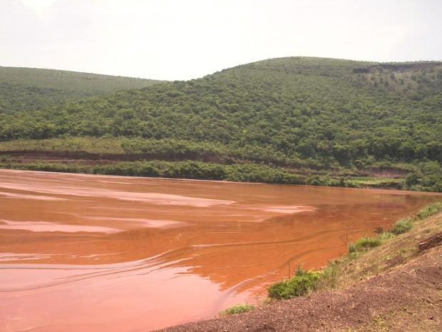 Gregório é a maior barragem de mineração de Mato Grosso do Sul, segundo o DNPM (Foto: Clóvis Neto/Prefeitura de Corumbá)