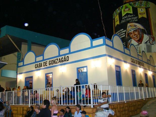 Casa do Gonzagão é uma das atrações do São João de Campina Grande  (Foto: Divulgação/Codecom-CG)