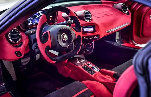 Alfa Romeo 4C La Furiosa Garage Italia Customs (Foto: Divulgação)