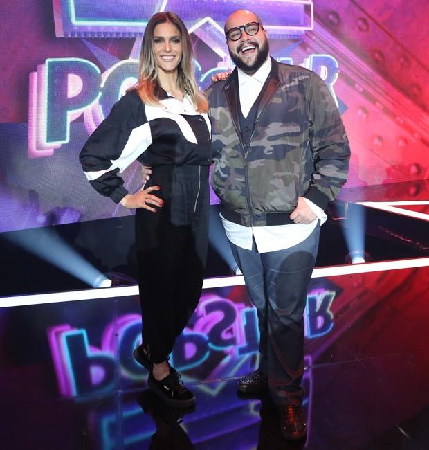 Fernanda Lima e Tiago Abravanel (Foto: Roberto Filho/Brazil News)