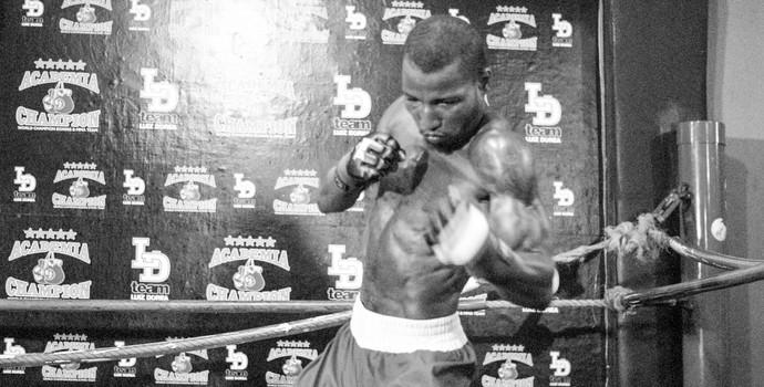 Robson Conceição; boxe (Foto: Egi Santana)