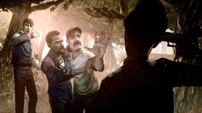 The Walking Dead da Telltale Games tem muita violência mas o impacto maior vem pela carga emocional de suas cenas (Foto: Reprodução/GamersHeroes)