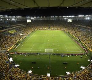 Estádio do Maracanã durante a final da Copa das Confederações 2013 (Foto: Getty Images)