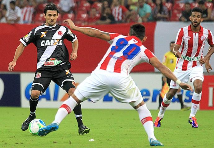 Aranda no jogo Vasco x Náutico (Foto: Marcelo Sadio / Site Oficial do Vasco)