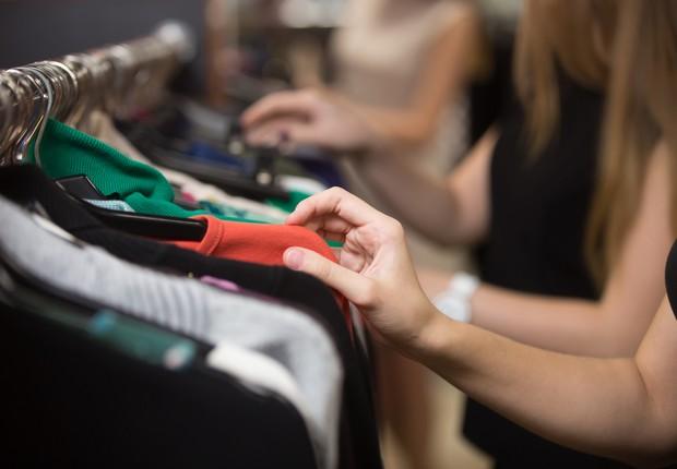 roupas - consumo - moda  (Foto: Thinkstock)