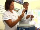Cidades goianas retomam vacinação contra H1N1 (Reprodução/TV Anhanguera)