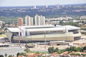 Arena Pantanal março 2014 (Foto: Renê Dióz/G1)