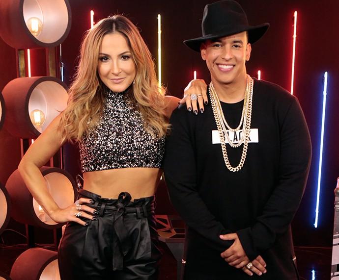 Claudia Leitte e Daddy Yankee lançaram Corazón no The Voice Brasil  (Foto: Felipe Monteiro / Gshow)