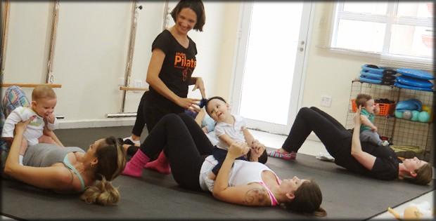 eu atleta pilates bebe2 (Foto: eu atleta)